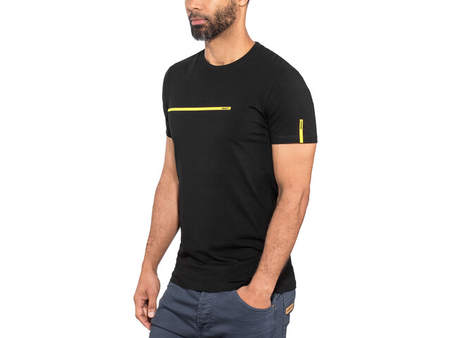 Mavic La Bande Jaune Camiseta Manga Corta Hombre, black